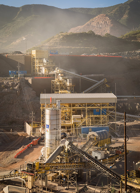 mining processing dolores